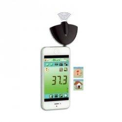 Czujnik temperatury bezkontaktowy TFA 31.1133 pirometr termometr do smartfonu lekarski