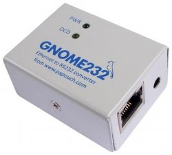 Konwerter, przetwornik Ethernet do RS232 Papouch GNOME232