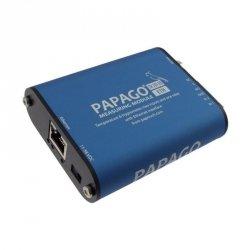 Moduł pomiarowy internetowy wieloparametrowy Papouch TH 2DI DO ETH PAPAGO zasilanie PoE Modbus TCP, Ethernet, LAN, IP