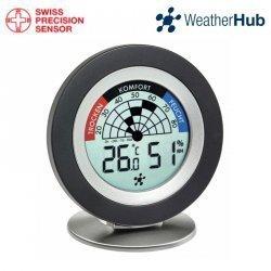 Termohigrometr domowy bezprzewodowy TFA 30.5043 COSY RADAR wewnętrzny monitro klimatu do systemu WeatherHub