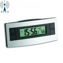 Budzik biurkowy TFA 60.2511 zegar elektroniczny sterowany radiowo