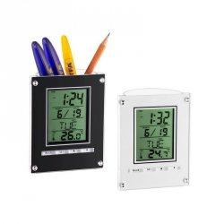 Budzik biurkowy TFA 98.1075 zegar elektroniczny z termometrem - OUTLET