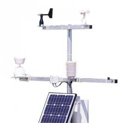 Stacja anemometryczna ultradźwiękowa z transmisją GPRS/GSM PM Ecology RADIO WIND stacja pomiarowa on-line wiatru