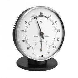 Termohigrometr tradycyjny TFA 45.2032 czujnik temperatury i wilgotności mechaniczny włókna syntetyczne 102 mm