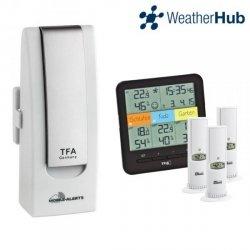 Internetowy system pomiarowy WeatherHub TFA 31.4007 zestaw startowy do 50 czujników