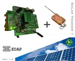 Sterownik solar tracker optyczny Edap ST107 paneli słonecznych na podstawie pozycji słońca