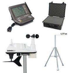 Stacja meteorologiczna bezprzewodowa Davis Vantage Vue półprofesjonalna zewnętrzna - zestaw mobilny