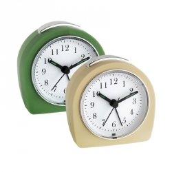 Budzik biurkowy TFA 60.1021 zegar wskazówkowy płynąca wskazówka