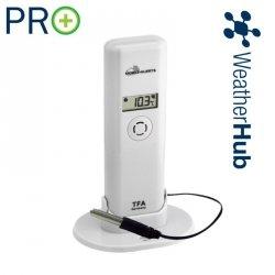 Czujnik temperatury i wilgotności bezprzewodowy TFA 30.3302 z wodoszczelna sondą PRO 110C do WeatherHub