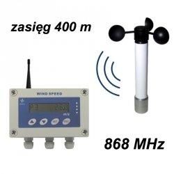 Wiatromierz sygnalizacyjny bezprzewodowy Navis WSM-W301 anemometr mechaniczny wyjście przekaźnikowe