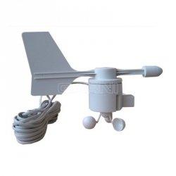 Czujnik prędkości i kierunku wiatru TechnoLine TX20 wiatromierz, anemometr mechaniczny