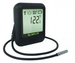 Rejestrator temperatury internetowy Corintech EL-WiFi-TP+ data logger WiFi, IP, Ethernet z sondą termistorową