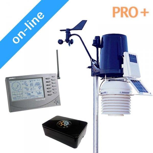 Stacja meteorologiczna internetowa on-line e4weather PRO+