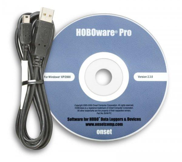 Oprogramowanie HOBOware Pro nośnik CD