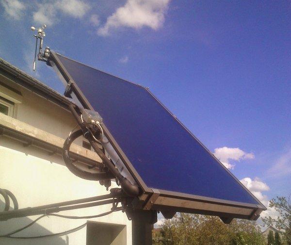 Sterownik solar tracker optyczny Edap ST109 paneli słonecznych na podstawie pozycji słońca