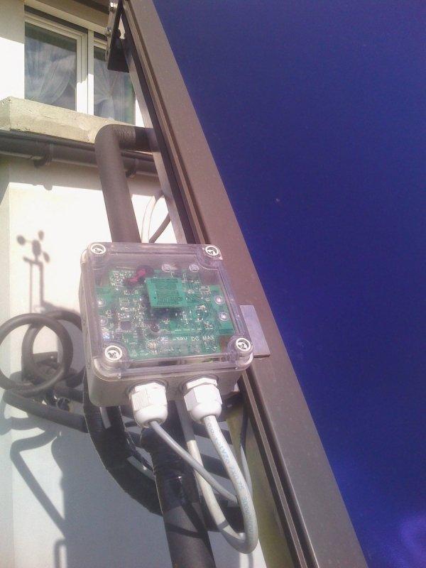 Sterownik solar tracker optyczny Edap ST110 paneli słonecznych na podstawie pozycji słońca