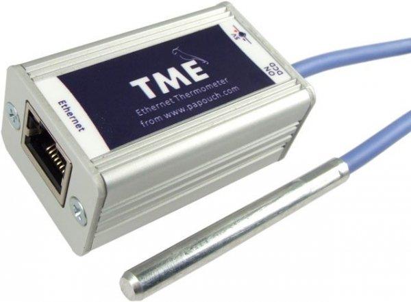 Termometr internetowy Papouch TME_P czujnik temperatury Modbus TCP, Ethernet, LAN, IP