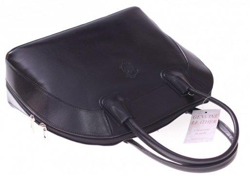 725bece53895f Previous Next. Torebka skórzana Włoski kuferek Genuine Leather Czarny