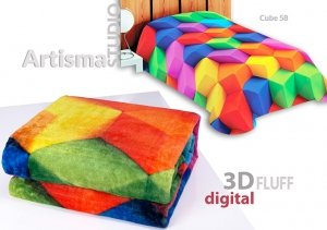 Koc 3D 155x220 cm Cube 58
