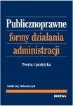 Publicznoprawne formy działania administracji