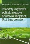 Priorytety i wyzwania polityki rozwoju obszarów wiejskich Unii Europejskiej