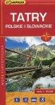 Tatry Polskie i Słowackie Mapa turystyczna 1:50 000