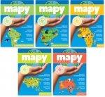 Mapy świata Pakiet ( części 1-5 )
