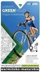 Green Velo mapa rowerowa Województwo warmińsko-mazurskie.część wschodnia