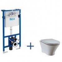 Zestaw podtynkowy Duplo + miska WC podwieszana Nexo A89009000N