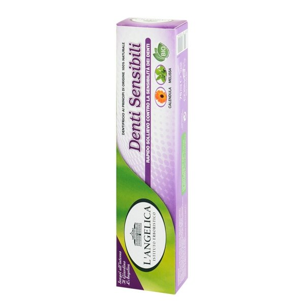L'Angelica Wrażliwe Zęby naturalna pasta do zębów 75ml