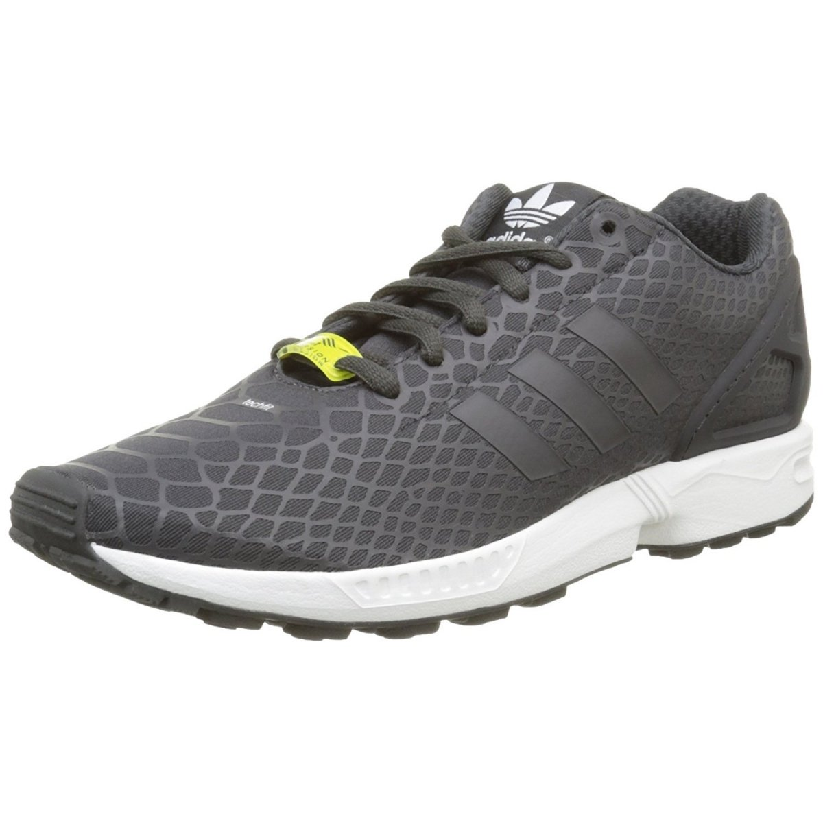 b3d78fe15 ADIDAS ORIGINALS ZX FLUX TECHFIT Men Snaekers Athletic Shoes S75488 ...