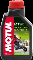 Motul Scooter 2T Expert semisyntetyczny olej 1L