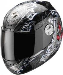 Scorpion Exo - 450 Air Gourou kask motocyklowy czarny r. XXL Wyprzedaż!!!