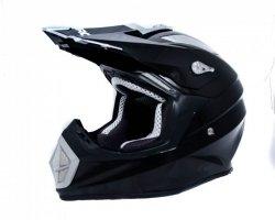 Shiro MX-912 Carbon czarny kask motocyklowy enduro r. M, L
