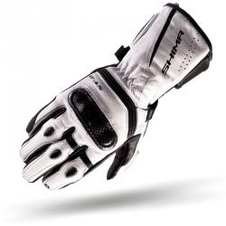 Shima ST-2 rękawice motocyklowe skórzane białe