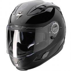 Scorpion Exo - 1000 kask motocyklowy czarny połysk r. XXL Wyprzedaż!!!