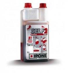 Ipone Self 2t pół-syntetyczny olej silnikowy do mieszanki 1litr truskawkowy