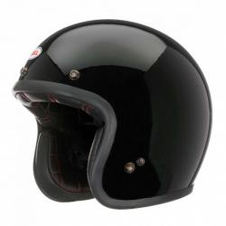 Bell Custom 500 (C500) kask motocyklowy otwarty retro (czarny połysk)