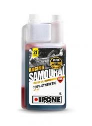 Ipone Samourai Racing 2T 100% syntetyczny olej silnikowy do mieszanki (truskawka) 1litr