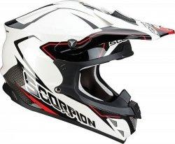 Scorpion VX-15 Air Leggero kask motocyklowy biało-czarny r.L Wyprzedaż !!!