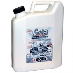 Ipone Snow Racing 2T - olej do skuterów śnieżnych (-54ST.C) 4L, semisyntetyk (truskawka)
