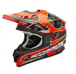 Scorpion Vx-15 Evo Air Magma kask motocyklowy r.M
