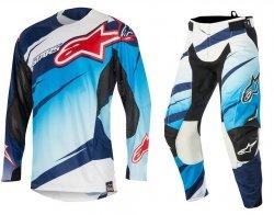 Alpinestars Techstar Venom spodnie motocyklowe 34 + bluza motocyklowa M - Komplet odzieży MX enduro Wyprzedaż Kolekcji!