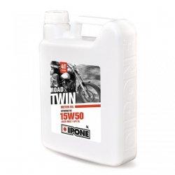 Ipone Road Twin 15W50 olej półsyntetyczny do silników 4-suwowych 4L