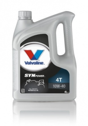 VALVOLINE SYNPOWER 4T 10W40 4L