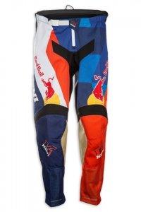 Kini Red Bull Vintage 2017 spodnie MX cross pomarańczowo-niebie<br />skie