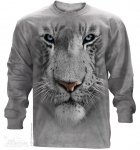 White Tiger Face - Long Sleeve The Mountain