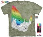 Rhinoceros Animals 10 - Colorwear -The Mountain