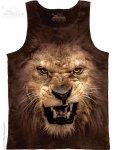 Big Face Roaring Lion - Bezrękawnik The Mountain