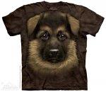 German Shepherd Puppy - The Mountain